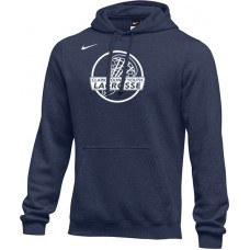 Clark County Youth Lacrosse 18: Adult-Size - Nike Team Club Fleece Training Hoodie (Unisex) - Navy Blue